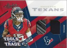 2017 Absolute Tools of the Trade Dual Materials #15 Will Fuller V Jersey /99