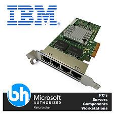 IBM 49Y4242 Intel PRO 1000 Quad Port Gigabit Adapter Ethernet Card Low Profile