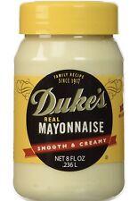 Duke's Real Mayonnaise Smooth & Creamy 8 oz Jar