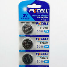 CR2025 High Capacity Lithium Cell battery - 3 New batteries!
