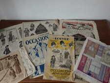 Lot Brochures Catalogue DUFAYEL GALERIES LAFAYETTE AU LOUVRE BON MARCHE 1920's