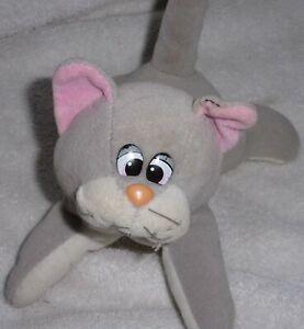 Pound Puppy Gray Kitty Plush