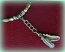 FEATHERS NECKLACE PENDANT Florida State FSU Seminoles NOLES theme - INDIAN style