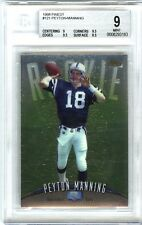 PEYTON MANNING~1998 TOPPS FINEST #121 BGS-9 MINT (8.5,9,9.5,9.5) ROOKIE RC CARD