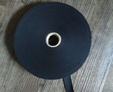 Gummizug 25 m 18 mm Schwarz Gummiband Gummilitze Litze  Hosengummi  Band  AE