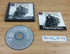 Sony Playstation PS1 Railroad Tycoon II PAL