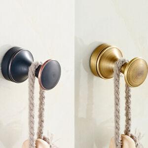 Bathroom Robe Towel Brass Hook Holder Hanger Wall Mount Coat Hook SO