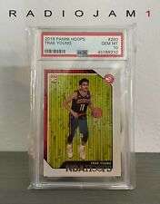2018 Panini NBA Hoops Trae Young #250 Rookie RC PSA 10 GEM MINT 💎