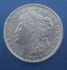 Authentic US Morgan Silver Dollar 1921 P 90% Silver US Mint $1 Coin