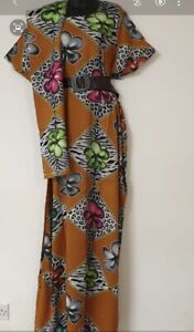 Kaftan Somali Baati African Arab Dress &Scarf Free Size Designer Handmade in KSA
