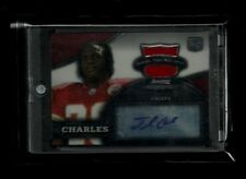 Jamaal Charles 2008 Bowman Sterling Jersey Auto RC! Kansas City Chiefs! 5.4 YPC!