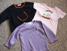 3-teil.Bekleidungspaket Gr.86,Fleece-Pullover,Langarm-Shirt,Kurzarm-Shirt,gut