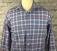 Men's Tommy Hilfiger Button Front Shirt 16 32 / 33 Regular Fit