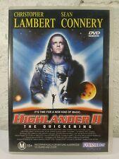 HIGHLANDER 2 - DVD_The Quickening - Christopher Lambert_Sean Connery_R4