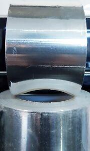 75mm x 45.7m Bostik Idenden Self Adhesive Aluminium Bright Foil Tape Insulation