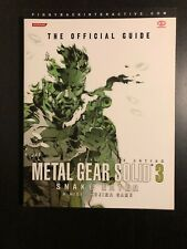 Metal Gear Solid 3 Snake Eater The Official Guide