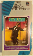 The Jolson Story VHS 1946 Musical 1987 Blue Ribbon Collection Cardboard Case