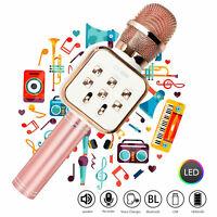 1800mAh Wireless Bluetooth Karaoke Microphone Handheld Speaker KTV Party Player