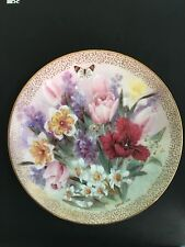 Tulip Ensemble - W. L. George Limited Edition Collector Plate !