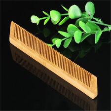 Wooden Hair Comb Anti Static Massage Natural Care Brush Regular Tooth Handmade Z