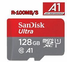 Carte Mémoire Micro SD ✓  Class 10 A1  SDXC 128 Go Gb ✓Original Sandisk ✓