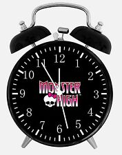 "Monster High Alarm Desk Clock 3.75"" Room Decor X69 Nice for Gifts wake up"