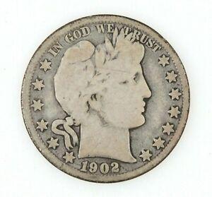 1902-O Barber Half Dollar US Silver Coin