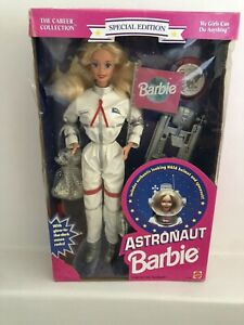 NRFB Barbie ASTRONAUT Doll Special Edition - The Career Collection Mattel 1994