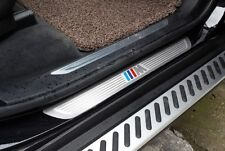 304 S/Steel Door sill scuff plate trim For BMW X5 E70 X6 E71 F15 F16 2008-2018