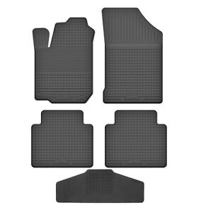 Maßgefertigte Fußmatten für Renault Clio II 1998-2012 Velours SCHWARZ