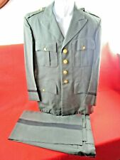 1955 Us Army Officers Uniform With Pants Excellent