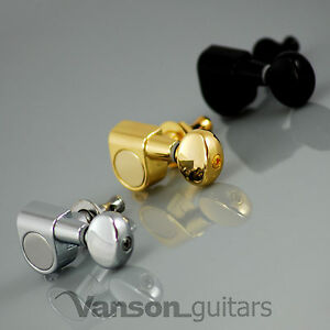 6 x Vanson VN05 Tuners for Stratocaster Telecaster Strat Tele Squier Jackson ®*