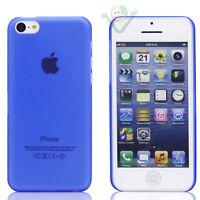 Custodia super sottile 0,3mm per Apple iPhone 5C azzurro trasparente ultra SLIM