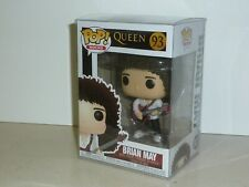 Funko Pop! Rocks #93 Queen - Brian May with Guitar + Protective Case