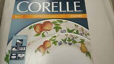 Corelle Impressions Chutney 16-Piece White Dinnerware Set Service for 4 NEW