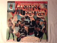 D.J. CHUCK CHILLOUT & KOOL CHIP Masters of the rhythm lp USA