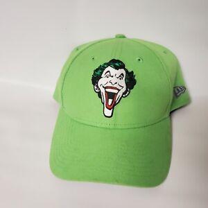 The Joker Logo New Era Snapback Hat Cap Vintage DC Comics Green Batman Comic tv