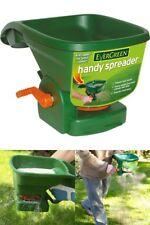 Grass Seed Spreader Fertiliser Feed Spreader Hand Lawn Garden Plant Fertilizer