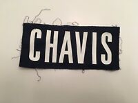 T) Virginia UVA Cavaliers Football Game Worn Jersey Chavis Nameplate