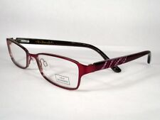 LuLu Guinness 692 Burgundy Women New Eyeglasses Frames