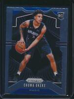2019-20 Panini Prizm Rookie Card RC #262 Chuma Okeke Orlando Magic