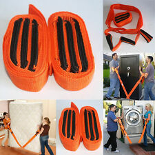 1 Pair of  Forearm Forklift Lifting and Moving Straps to easily carry furniture