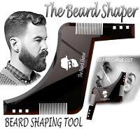 THE BEARD SHAPER - Shaping Tool, Template, Symmetry, Comb - Mens Birthday gift