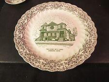 "Tenth Avenue Baptist 10-1/4"" Souvenir Plate (Old Church) Birmingham, AL"