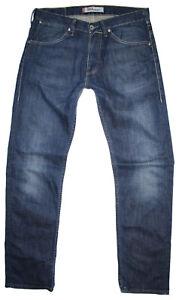Levis Herren Jeans 504 STRAIGHT Stretch W34 L34 blau Levi's