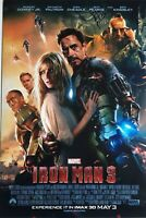 Iron Man 3 Movie  Collector's  Poster Print - MARVEL AVENGERS 12x18
