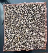 New listing African Kuba Cloth - Vintage 1930-40s Handwoven Raffia