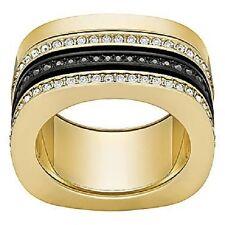 SWAROVSKI   VIO RING VER JET/CRY/MIX 55 *NEW IN BOX* 5143854 Gorgeous Crystal 7