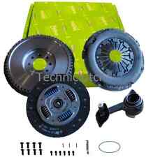 SOLID FLYWHEEL, VALEO CLUTCH, CSC AND BOLTS FOR FORD MONDEO 115 TDDI 1998CC 5 SP