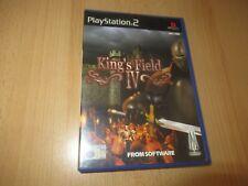 Kings Field Iv (PS2) - pal version